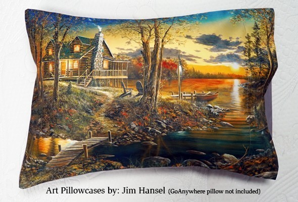 Art With Comfort Collection<br />By Artist Jim Hansel